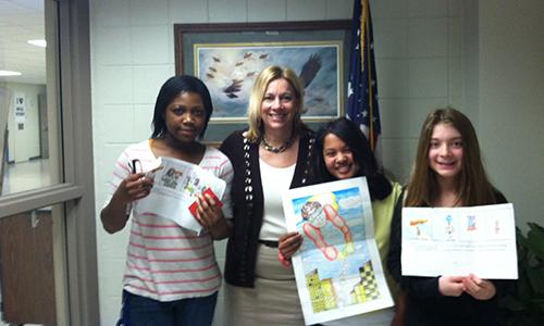 2012 Woodbury Middle School Youth Week Winners