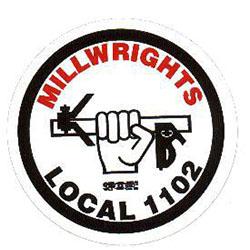 Millwrights Local 1102 Logo