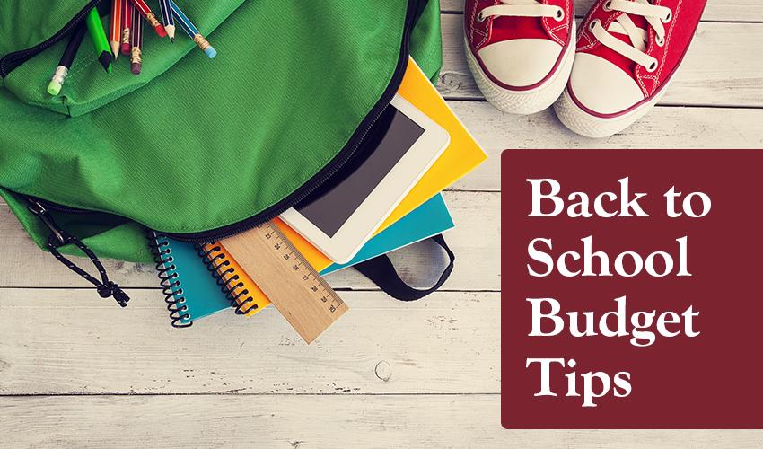 Monson Savings Bank Shares Back-to-School Budget Tips