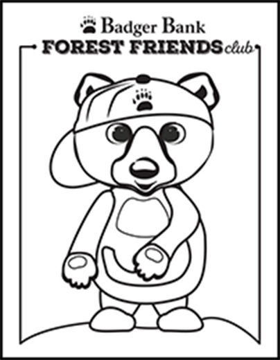 Beau Bear coloring page