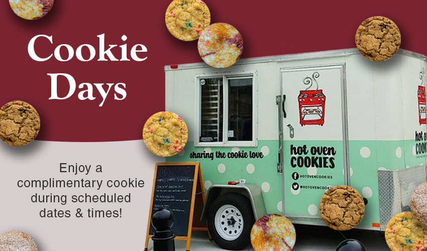 Monson Savings Bank Celebrates Hispanic Heritage Month with October Visits from the Hot Oven Cookie Cart