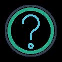 Icon representing FAQ