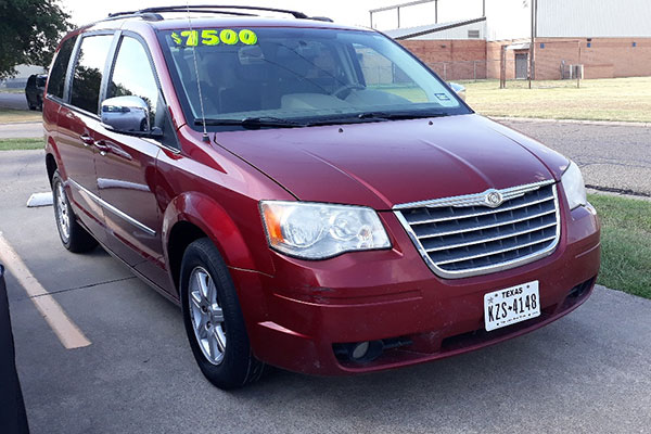 2010 Chrysler Town and Country Touring Van