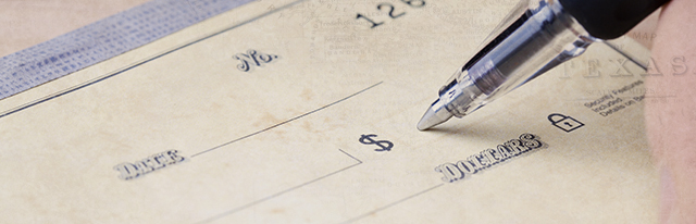 Do You Know What All the Parts of a Check Mean?