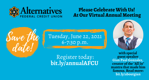 News Release: AFCU to Celebrate Annual Meeting on June 22, 2021