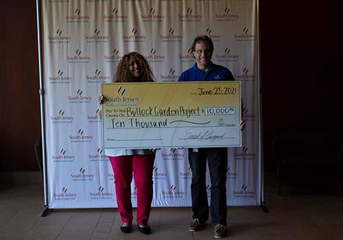 SJFCU presents $10,000 grant to The Bullock Garden Project