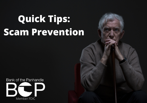 Quick Tips: Scam Prevention