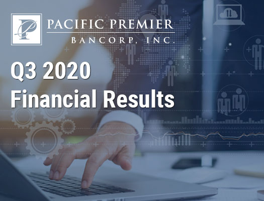 Image of Pacific Premier Bancorp, Inc. Announces Third Quarter 2020 Results