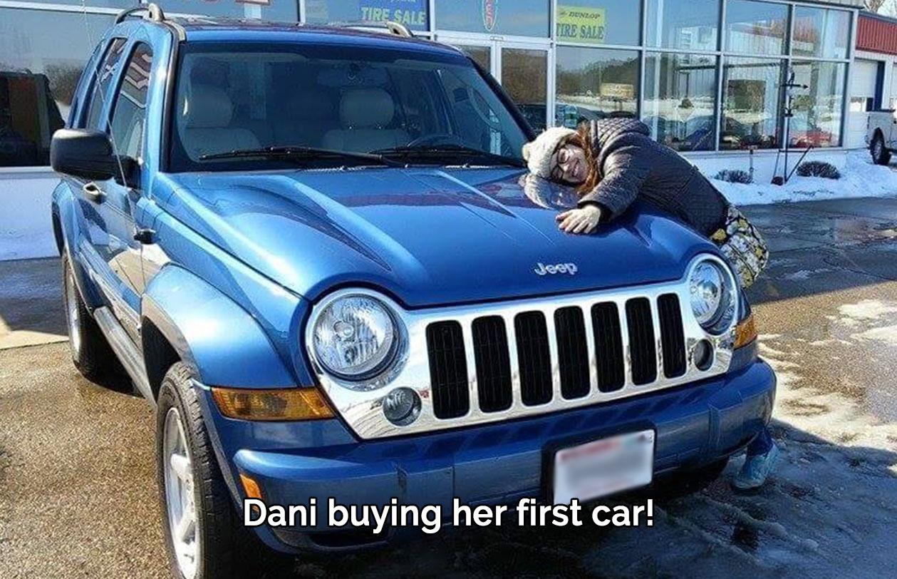Dani's First Car!