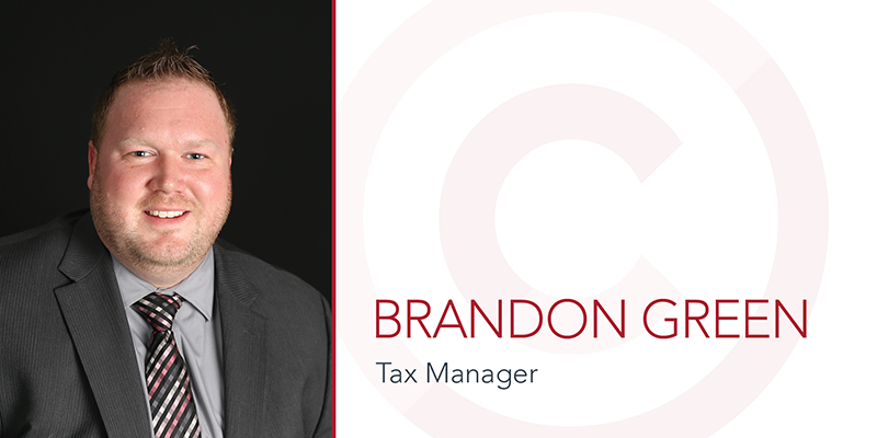 Local Firm Hires New Tax Manager