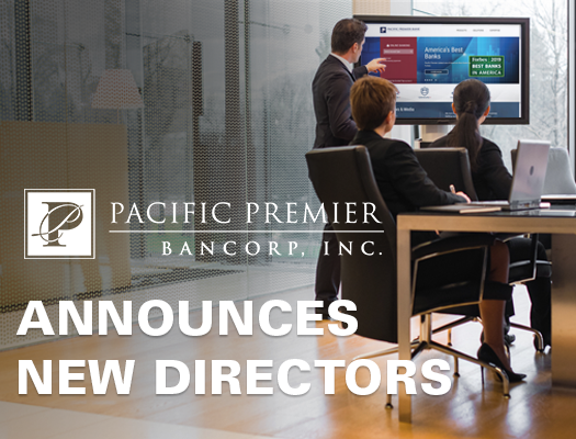 Image of Pacific Premier Bancorp Announces Additions to Board of Directors