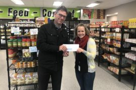 Safe Harbor Donates to the Food Bank