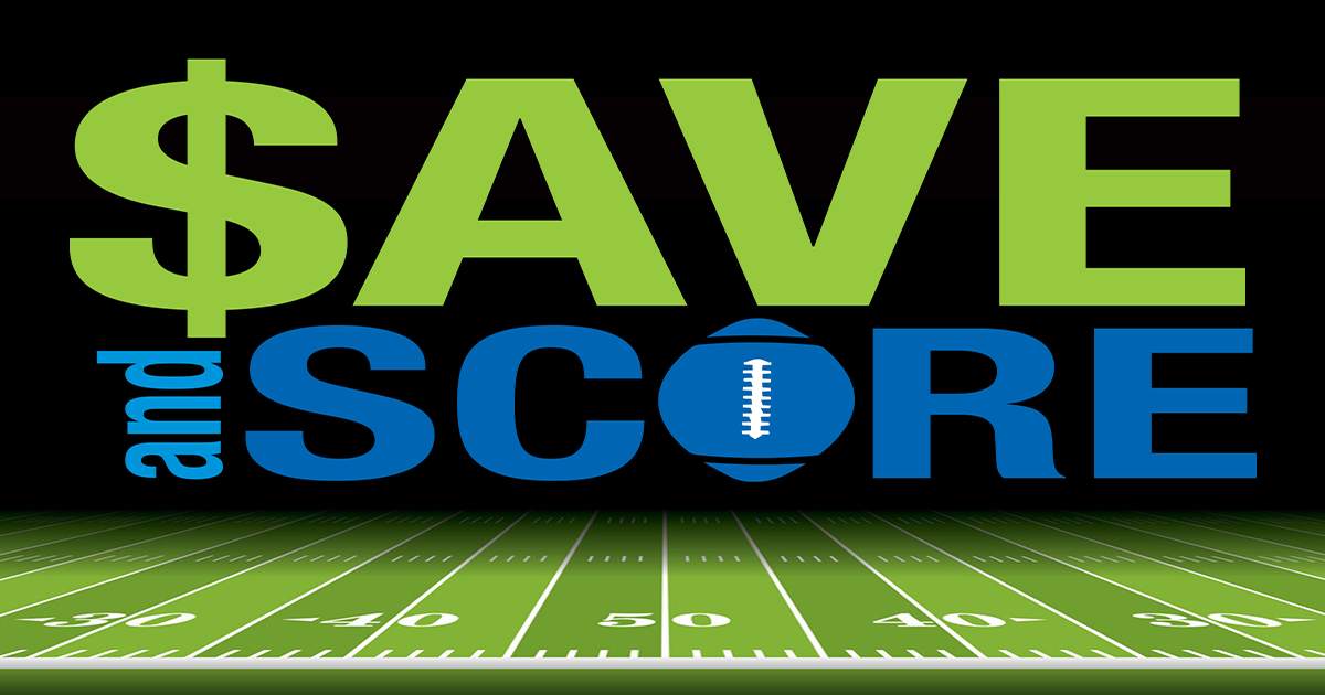 Save and Score Giveaway.
