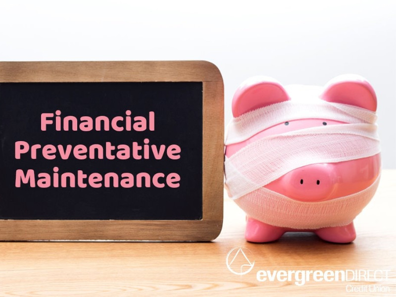 Financial Preventative Maintenance