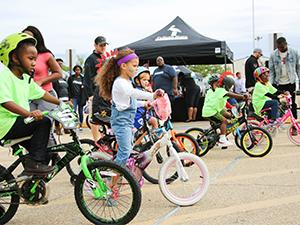Free Kids Bike Race in Monroe