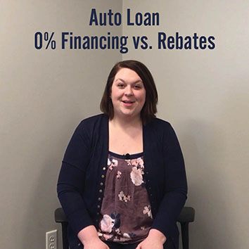 Video: Auto Loan 0% Financing vs. Rebates