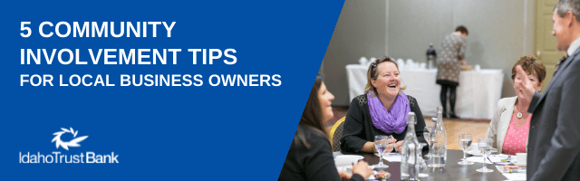 Five Community Involvement Tips for Local Business Owners