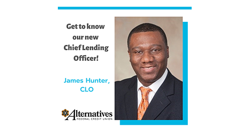 Press Release: James Hunter, C.U.D.E. and Credit Union Rock Star Named Chief Lending Officer at A.F.C.U.