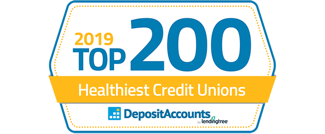 USSFCU Recognized by DepositAccounts.com in 2019 Top 200 Healthiest Credit Unions in America