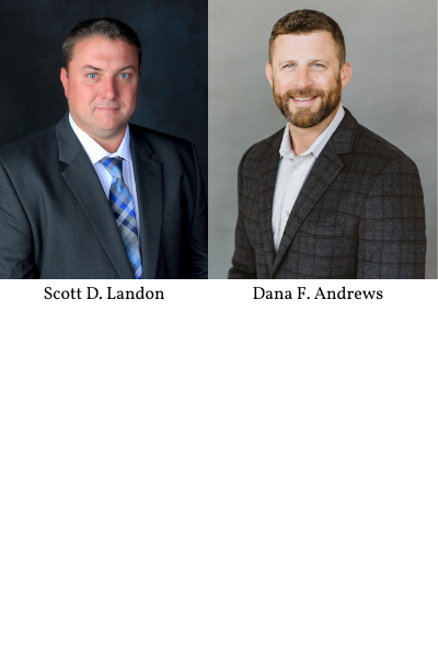 Landon and Andrews Appointed to Board of Directors