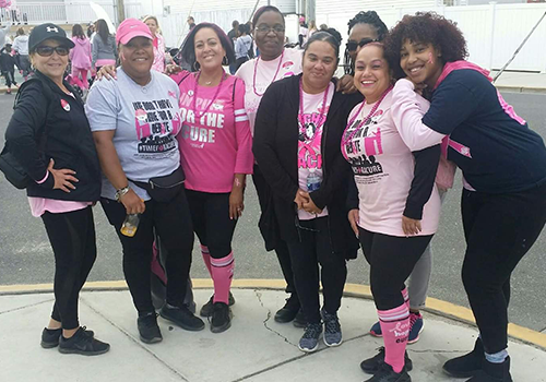 Making Strides Walk - Ocean City Boardwalk