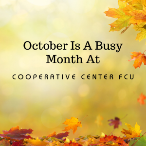 October Events At The Credit Union