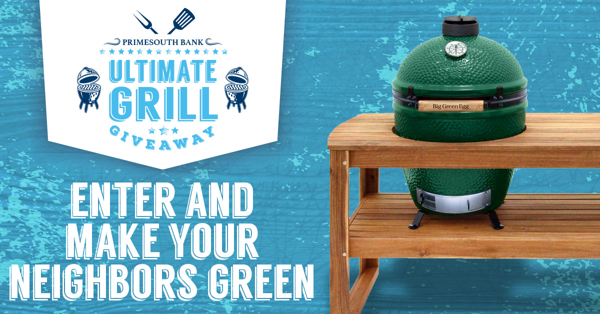 Get in on the Ultimate Grill Giveaway June 4th through 14th!