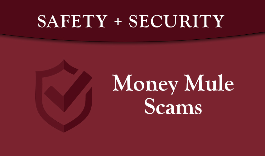 Monson Savings Shares Information about Money Mule Scams