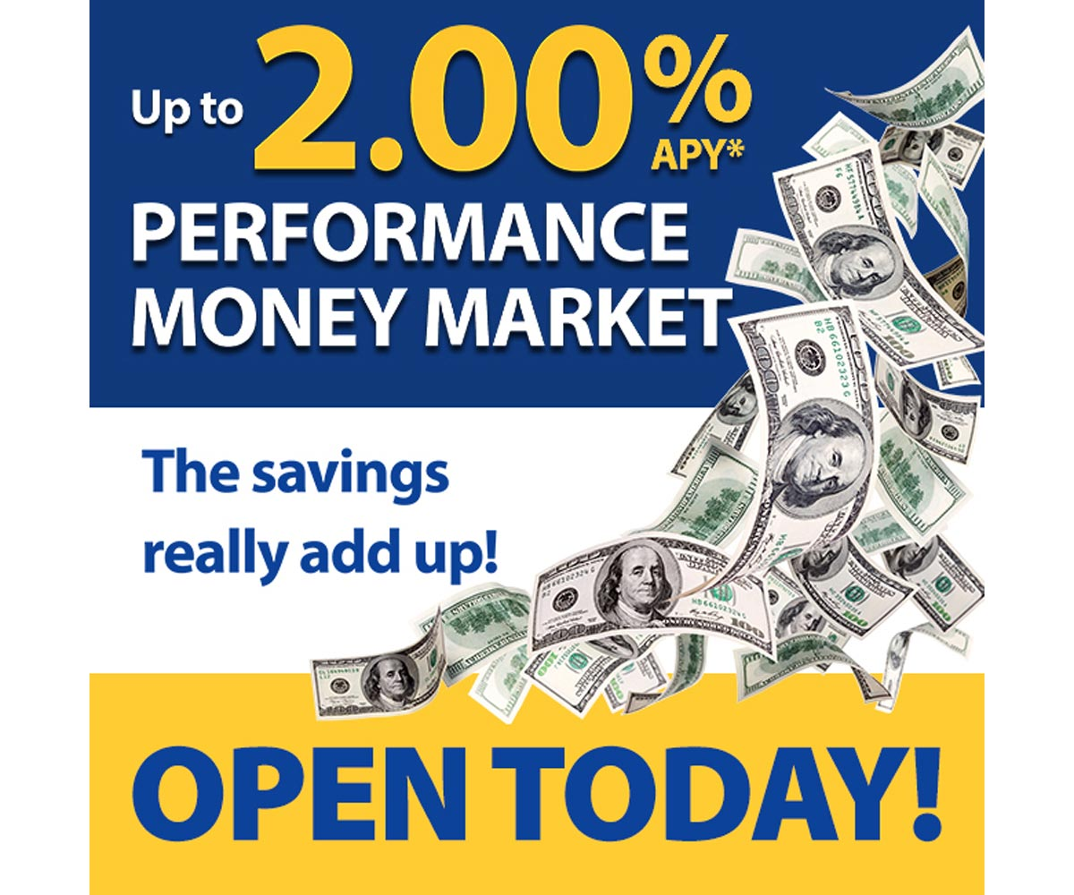 Up to 2.00% APY, Open Today