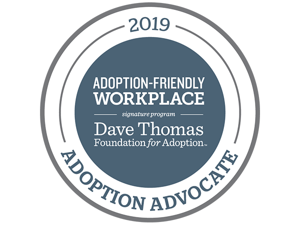 DAVE THOMAS FOUNDATION NAMES ACCU A 2019 ADOPTION ADVOCATE
