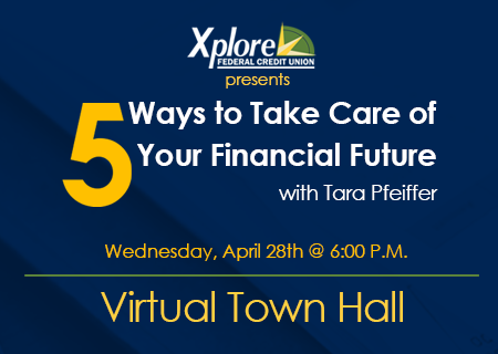 Free Financial Literacy Town Hall: 5 Ways to Take Care of Your Financial Future