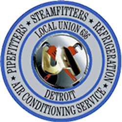 Pipefitters Local 636 Logo