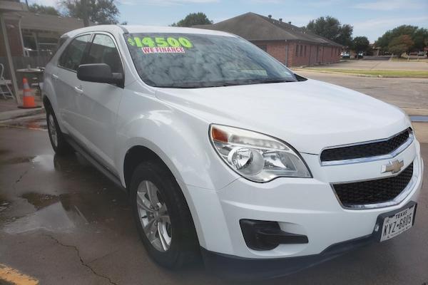 2015 Chevrolet Equinox LS (White)