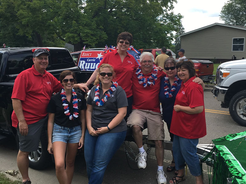 Fun at the Hill City Parade
