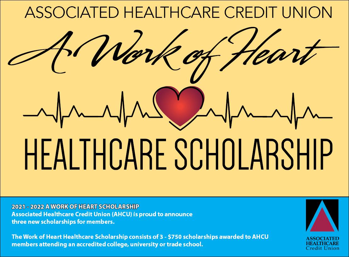 2021-2022 A Work of Heart Healthcare Scholarship