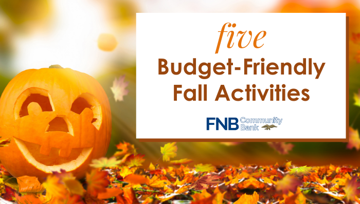 5 Budget Friendly Fall Activities