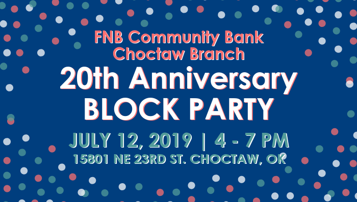Choctaw's 20th Anniversary Block Party Celebration