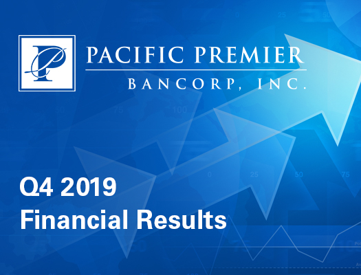 Image of Pacific Premier Bancorp, Inc. Announces Fourth Quarter 2019 Financial Results