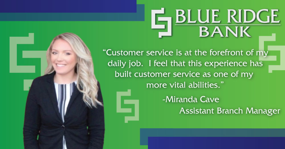 Miranda Cave - Customer Service Focused