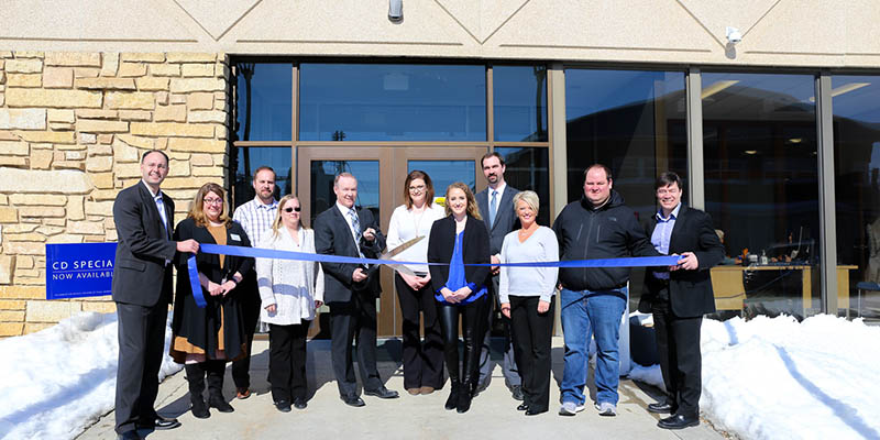 Bank Holds Ribbon Cutting and Open House