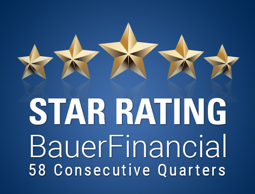 Image of 5-Star Rating by BauerFinancial