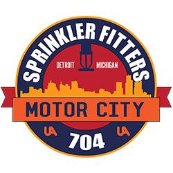 Sprinkler Fitters 704 Logo