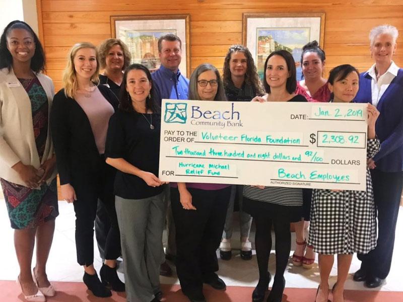 Team Beach Supports Volunteer Florida Foundation