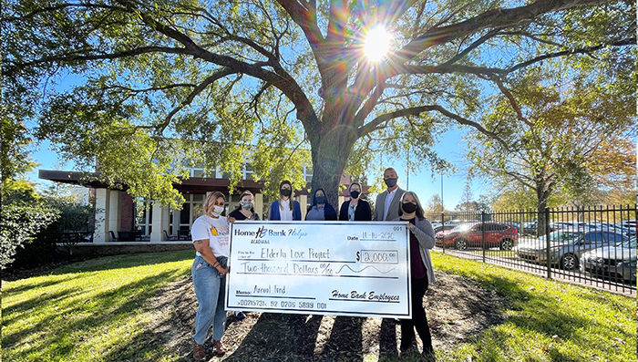Home Bank Grants Funds to 15 Local Nonprofits Through Employee Giving Program