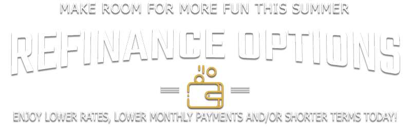 Make room for more FUN this summer with great refinance options!