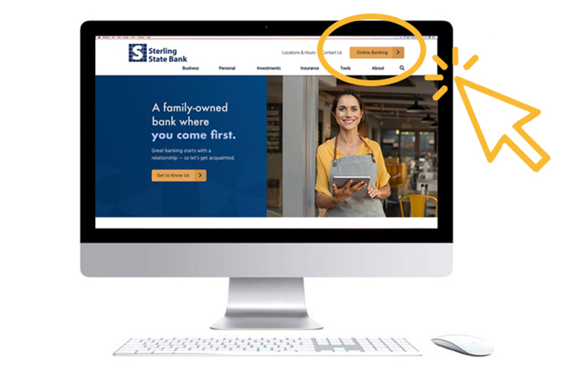 How to Navigate Our New Website | Sterling State Bank Blog