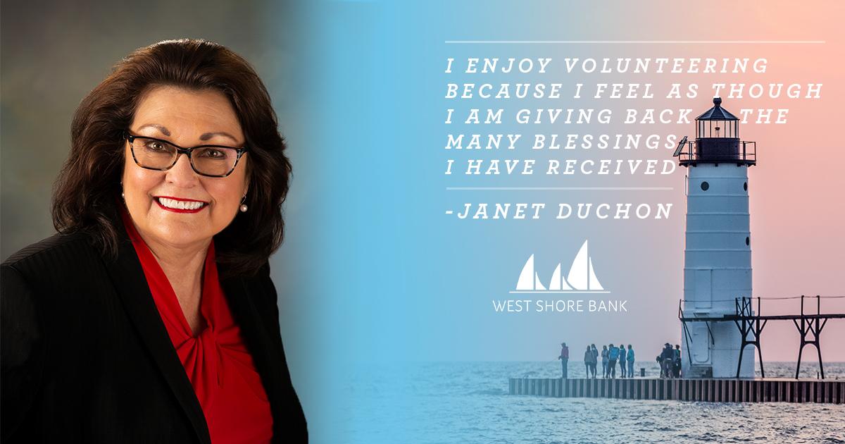 West Shore Bank Spotlight: Janet Duchon